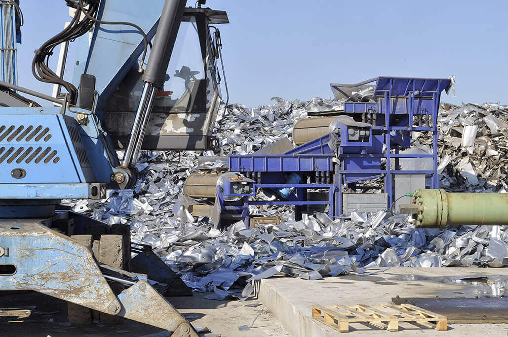 Separierung und Chemische Analyse von Metallmüll