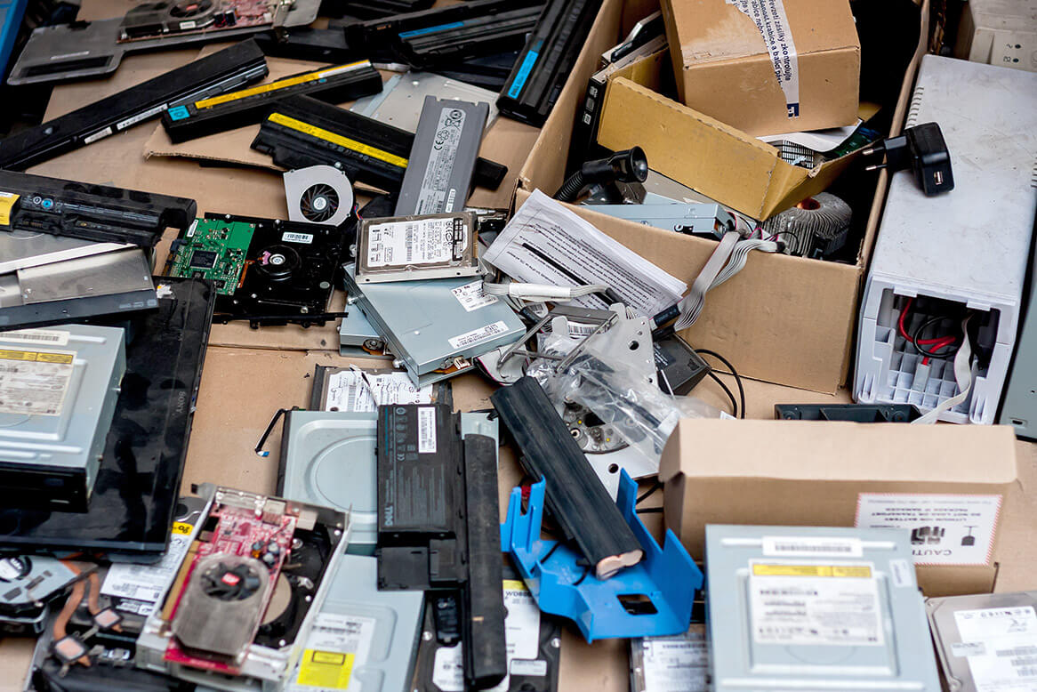 Electric and electronic waste